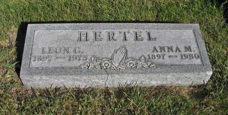 HERTEL, LEON C. - Holt County, Nebraska | LEON C. HERTEL - Nebraska Gravestone Photos