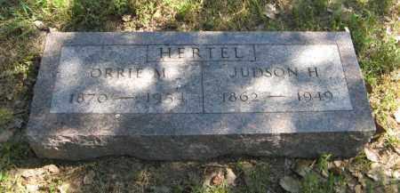 HERTEL, JUDSON H. - Holt County, Nebraska   JUDSON H. HERTEL - Nebraska Gravestone Photos