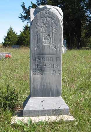 HERZOG, JACOB F. - Holt County, Nebraska | JACOB F. HERZOG - Nebraska Gravestone Photos