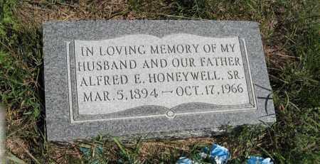 HONEYWELL, ALFRED E. - Holt County, Nebraska   ALFRED E. HONEYWELL - Nebraska Gravestone Photos
