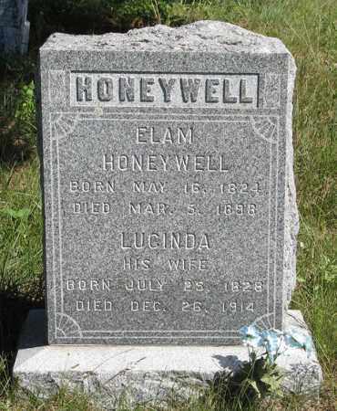 HONEYWELL, LUCINDA - Holt County, Nebraska | LUCINDA HONEYWELL - Nebraska Gravestone Photos