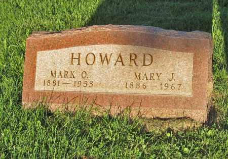 HOWARD, MARY J. - Holt County, Nebraska   MARY J. HOWARD - Nebraska Gravestone Photos