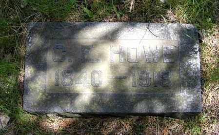 HOWE, C. E. - Holt County, Nebraska | C. E. HOWE - Nebraska Gravestone Photos