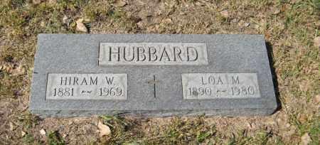 HUBBARD, LOA M. - Holt County, Nebraska | LOA M. HUBBARD - Nebraska Gravestone Photos