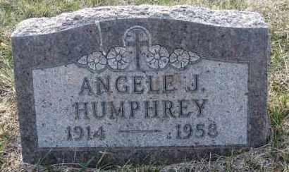 HUMPHREY, ANGELE J - Holt County, Nebraska | ANGELE J HUMPHREY - Nebraska Gravestone Photos