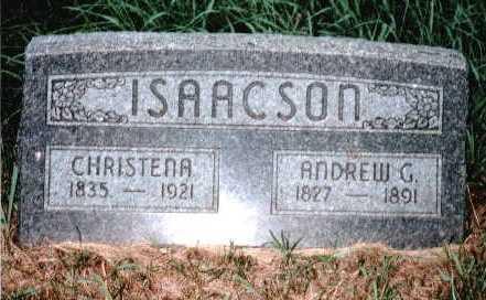 JONASDATTER ISAACSON, CHRISTENA A. - Holt County, Nebraska | CHRISTENA A. JONASDATTER ISAACSON - Nebraska Gravestone Photos