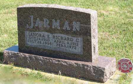 JARMAN, RICHARD C. - Holt County, Nebraska | RICHARD C. JARMAN - Nebraska Gravestone Photos