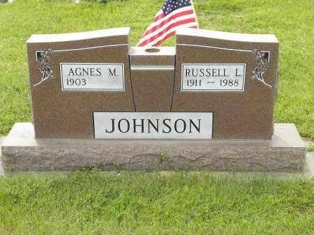 JOHNSON, AGNES MARTHA - Holt County, Nebraska   AGNES MARTHA JOHNSON - Nebraska Gravestone Photos