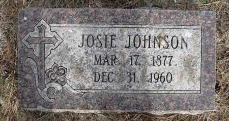 JOHNSON, JOSEPHINE - Holt County, Nebraska | JOSEPHINE JOHNSON - Nebraska Gravestone Photos