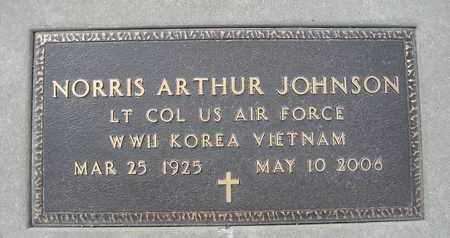 JOHNSON, NORRIS ARTHUR - Holt County, Nebraska | NORRIS ARTHUR JOHNSON - Nebraska Gravestone Photos