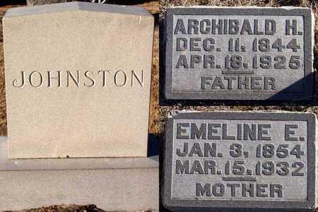 JOHNSTON, ARCHIBALD H. - Holt County, Nebraska | ARCHIBALD H. JOHNSTON - Nebraska Gravestone Photos