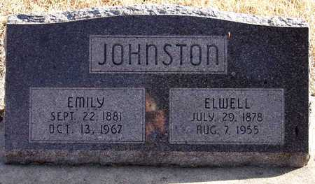 JOHNSTON, ELWELL - Holt County, Nebraska | ELWELL JOHNSTON - Nebraska Gravestone Photos