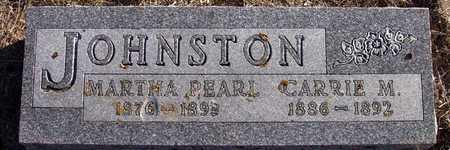 JOHNSTON, CARRIE M. - Holt County, Nebraska | CARRIE M. JOHNSTON - Nebraska Gravestone Photos