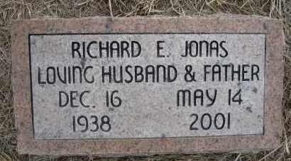 JONAS, RICHARD E - Holt County, Nebraska | RICHARD E JONAS - Nebraska Gravestone Photos