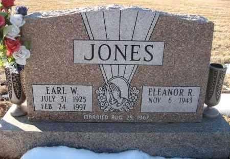 JONES, EARL W - Holt County, Nebraska | EARL W JONES - Nebraska Gravestone Photos