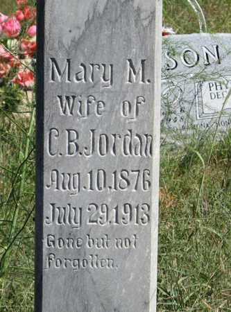 JORDAN, MARY (CLOSEUP) - Holt County, Nebraska | MARY (CLOSEUP) JORDAN - Nebraska Gravestone Photos