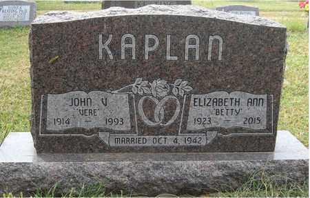 KAPLAN, ELIZABETH ANN - Holt County, Nebraska   ELIZABETH ANN KAPLAN - Nebraska Gravestone Photos