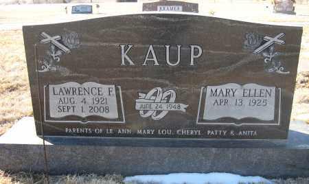 KAUP, LAWRENCE F - Holt County, Nebraska   LAWRENCE F KAUP - Nebraska Gravestone Photos
