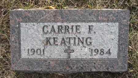 KEATING, CARRIE F - Holt County, Nebraska | CARRIE F KEATING - Nebraska Gravestone Photos