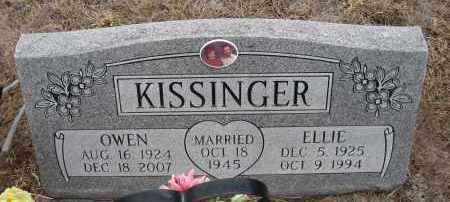 KISSINGER, ELLIE - Holt County, Nebraska | ELLIE KISSINGER - Nebraska Gravestone Photos