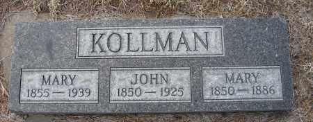 KOLLMAN, JOHN - Holt County, Nebraska | JOHN KOLLMAN - Nebraska Gravestone Photos