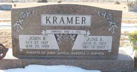 KRAMER, JOHN B - Holt County, Nebraska | JOHN B KRAMER - Nebraska Gravestone Photos