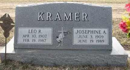 KRAMER, LEO R - Holt County, Nebraska | LEO R KRAMER - Nebraska Gravestone Photos