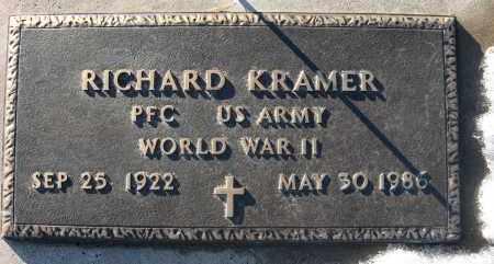 KRAMER, RICHARD - Holt County, Nebraska | RICHARD KRAMER - Nebraska Gravestone Photos