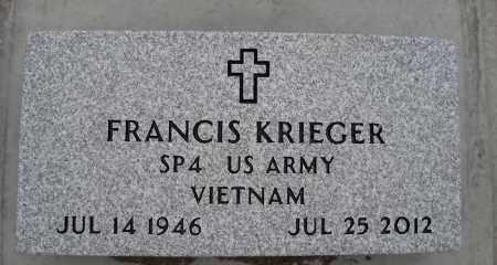 KRIEGER, FRANCIS - Holt County, Nebraska | FRANCIS KRIEGER - Nebraska Gravestone Photos