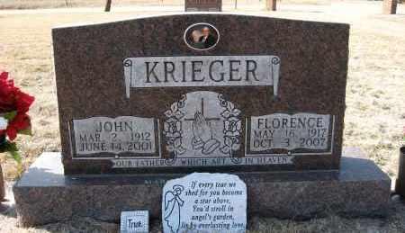 KRIEGER, FLORENCE - Holt County, Nebraska | FLORENCE KRIEGER - Nebraska Gravestone Photos