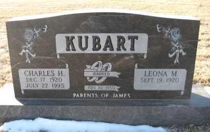 KUBART, CHARLES H - Holt County, Nebraska | CHARLES H KUBART - Nebraska Gravestone Photos