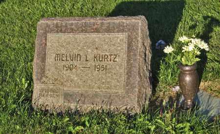 KURTZ, MELVIN L. - Holt County, Nebraska | MELVIN L. KURTZ - Nebraska Gravestone Photos