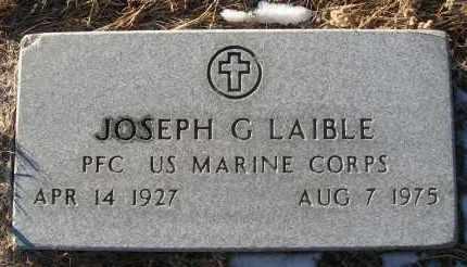 LAIBLE, JOSEPH G - Holt County, Nebraska | JOSEPH G LAIBLE - Nebraska Gravestone Photos