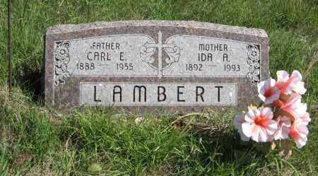 LAMBERT, IDA A. - Holt County, Nebraska   IDA A. LAMBERT - Nebraska Gravestone Photos