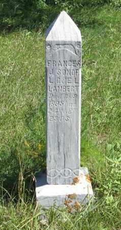 LAMBERT, FRANCES J. - Holt County, Nebraska | FRANCES J. LAMBERT - Nebraska Gravestone Photos