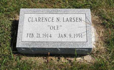 LARSEN, CLARENCE N. - Holt County, Nebraska | CLARENCE N. LARSEN - Nebraska Gravestone Photos