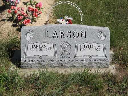 LARSON, HARLAN L. - Holt County, Nebraska | HARLAN L. LARSON - Nebraska Gravestone Photos