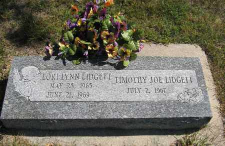 LIDGETT, TIMOTHY JOE - Holt County, Nebraska | TIMOTHY JOE LIDGETT - Nebraska Gravestone Photos