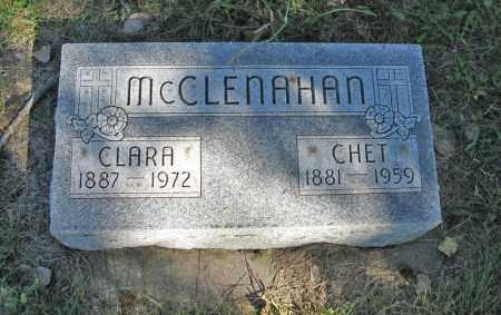 MCCLENAHAN, CHET - Holt County, Nebraska | CHET MCCLENAHAN - Nebraska Gravestone Photos
