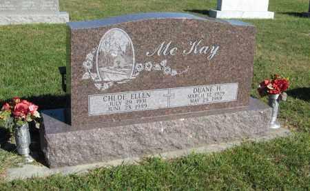 MCKAY, CHLOE ELLEN - Holt County, Nebraska   CHLOE ELLEN MCKAY - Nebraska Gravestone Photos