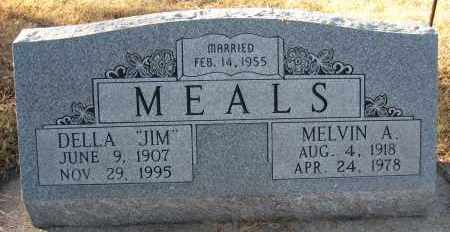 "MEALS, DELLA ""JIM"" - Holt County, Nebraska   DELLA ""JIM"" MEALS - Nebraska Gravestone Photos"