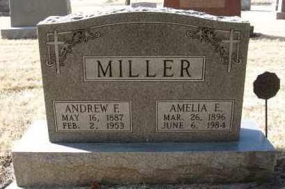 MILLER, AMELIA E - Holt County, Nebraska   AMELIA E MILLER - Nebraska Gravestone Photos