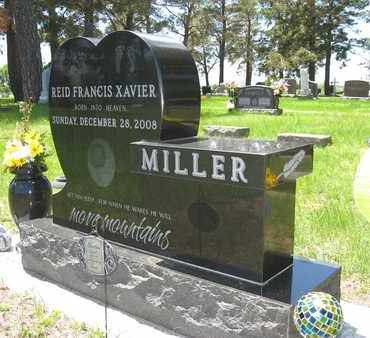MILLER, REID FRANCIS XAVIER - Holt County, Nebraska | REID FRANCIS XAVIER MILLER - Nebraska Gravestone Photos