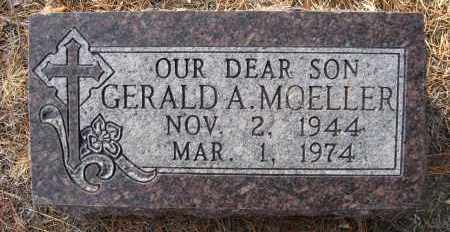 MOELLER, GERALD A - Holt County, Nebraska | GERALD A MOELLER - Nebraska Gravestone Photos