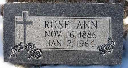 MONAHAN, ROSE ANN - Holt County, Nebraska | ROSE ANN MONAHAN - Nebraska Gravestone Photos
