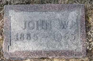 NACHTMAN, JOHN W - Holt County, Nebraska | JOHN W NACHTMAN - Nebraska Gravestone Photos