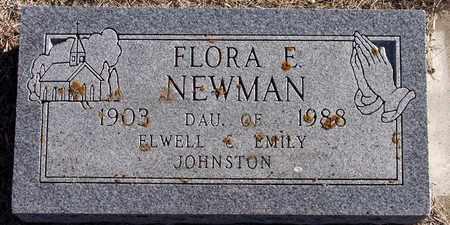 NEWMAN, FLORA - Holt County, Nebraska   FLORA NEWMAN - Nebraska Gravestone Photos