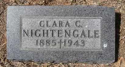 NIGHTENGALE, CLARA C - Holt County, Nebraska | CLARA C NIGHTENGALE - Nebraska Gravestone Photos