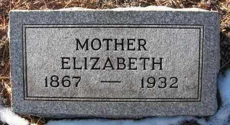 OLINGER, ELIZABETH - Holt County, Nebraska | ELIZABETH OLINGER - Nebraska Gravestone Photos