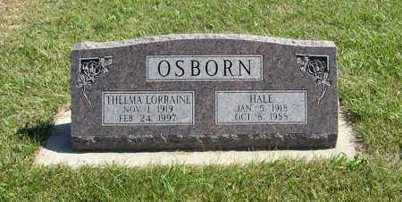 OSBORN, HALE - Holt County, Nebraska | HALE OSBORN - Nebraska Gravestone Photos